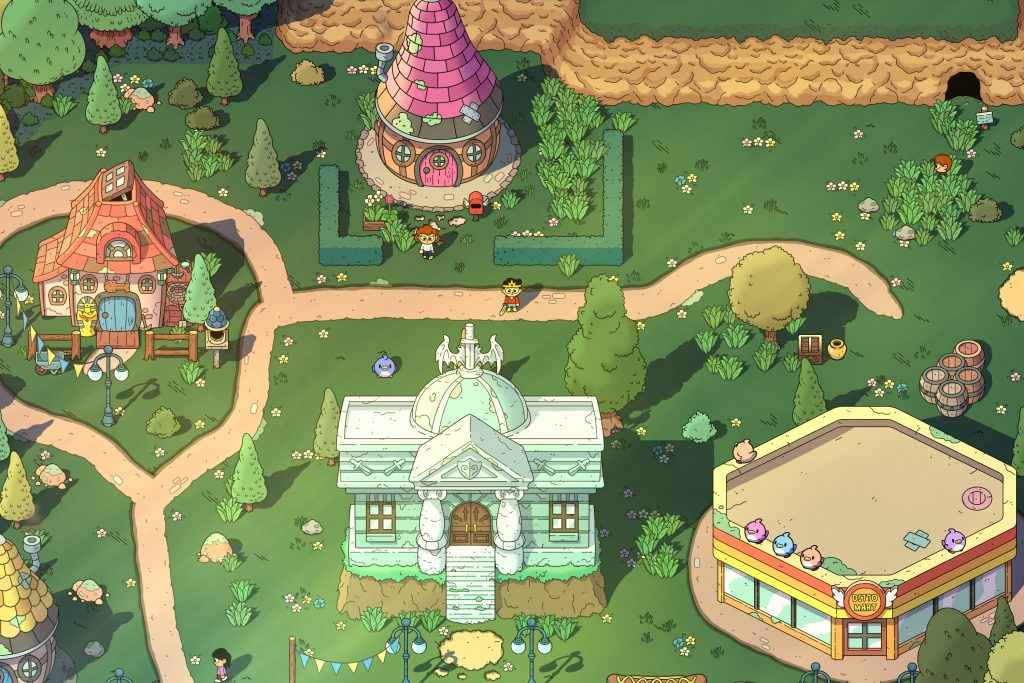 the swords of ditto review map