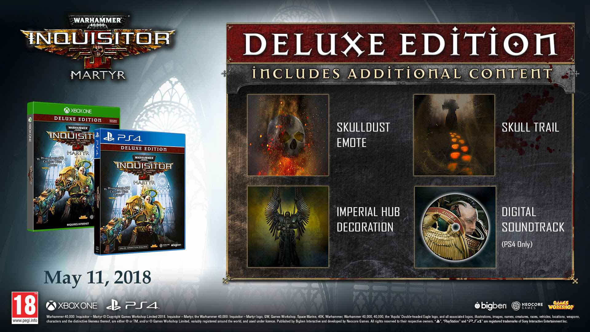 warhammer 40k inquisitor deluxe edition