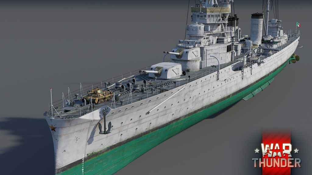 war thunder light cruisers