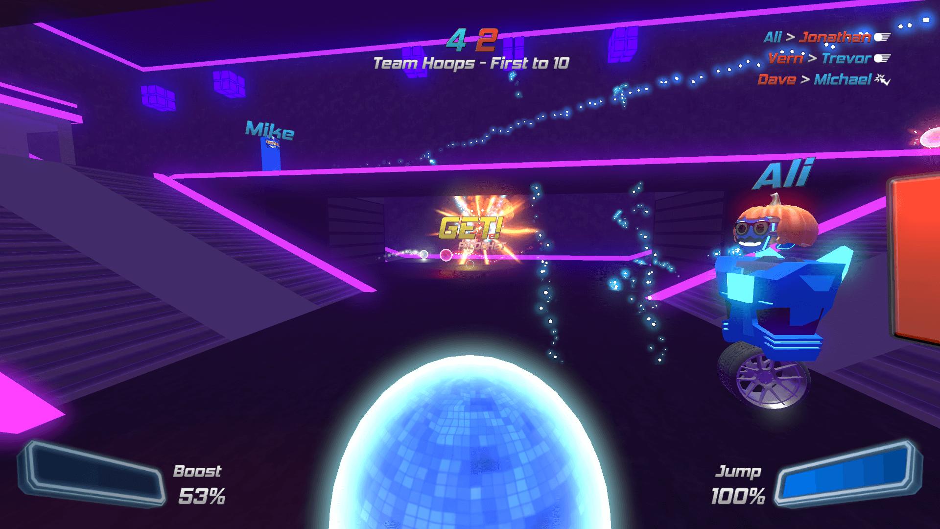 disco dodgeball remix characters