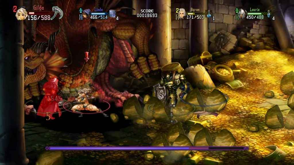 Dragon's Crown Pro gold