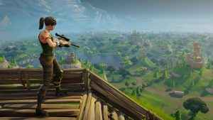Building's as important as shooting in Fortnite Battle Royale