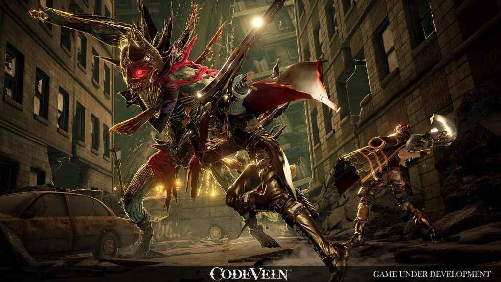 Expect punishing, Dark Souls-like combat from Code Vein