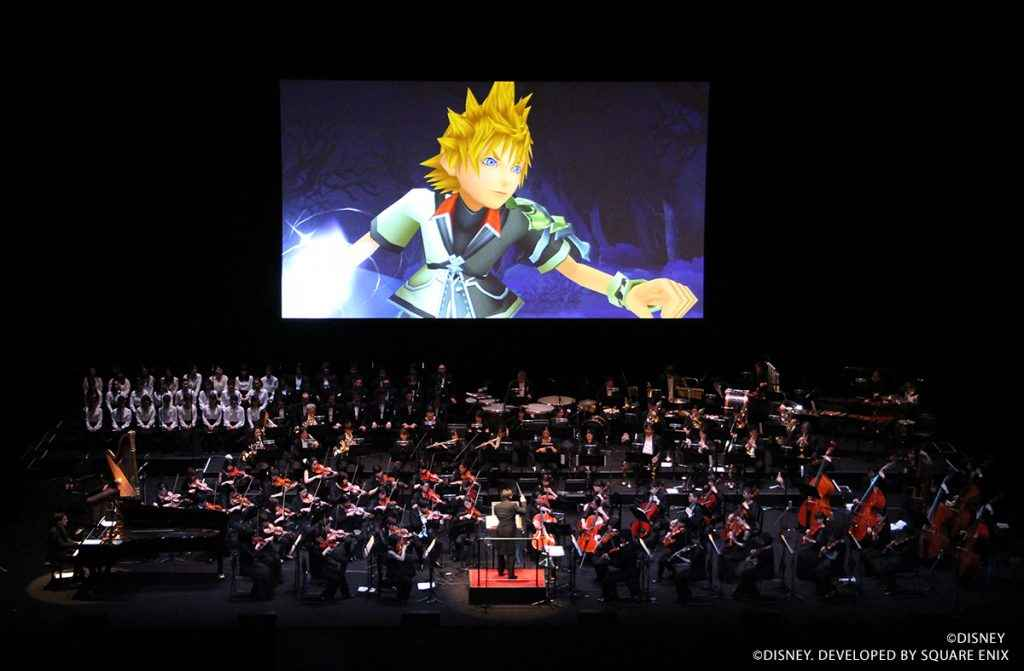 The talented musicians of the Kingdom Hearts Orchestra World Tour in action