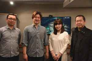 The cast of Shenmue III
