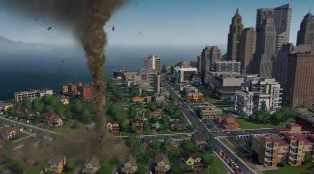 Cities Skylines Natural Disasters DLC Coming to PS4 This Month