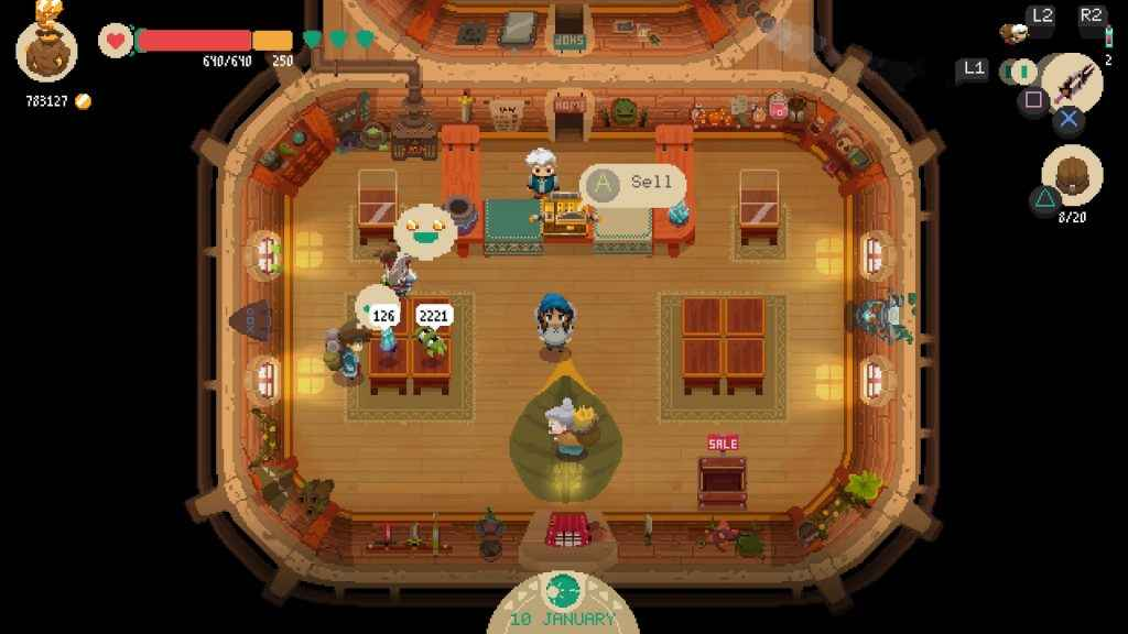 Moonlighter Review Screenshot 2 of 5