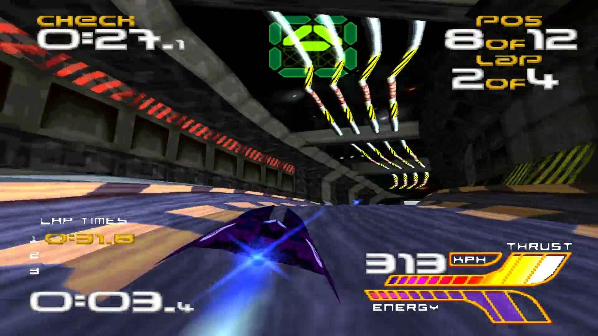 playstation classic wipeout 2097