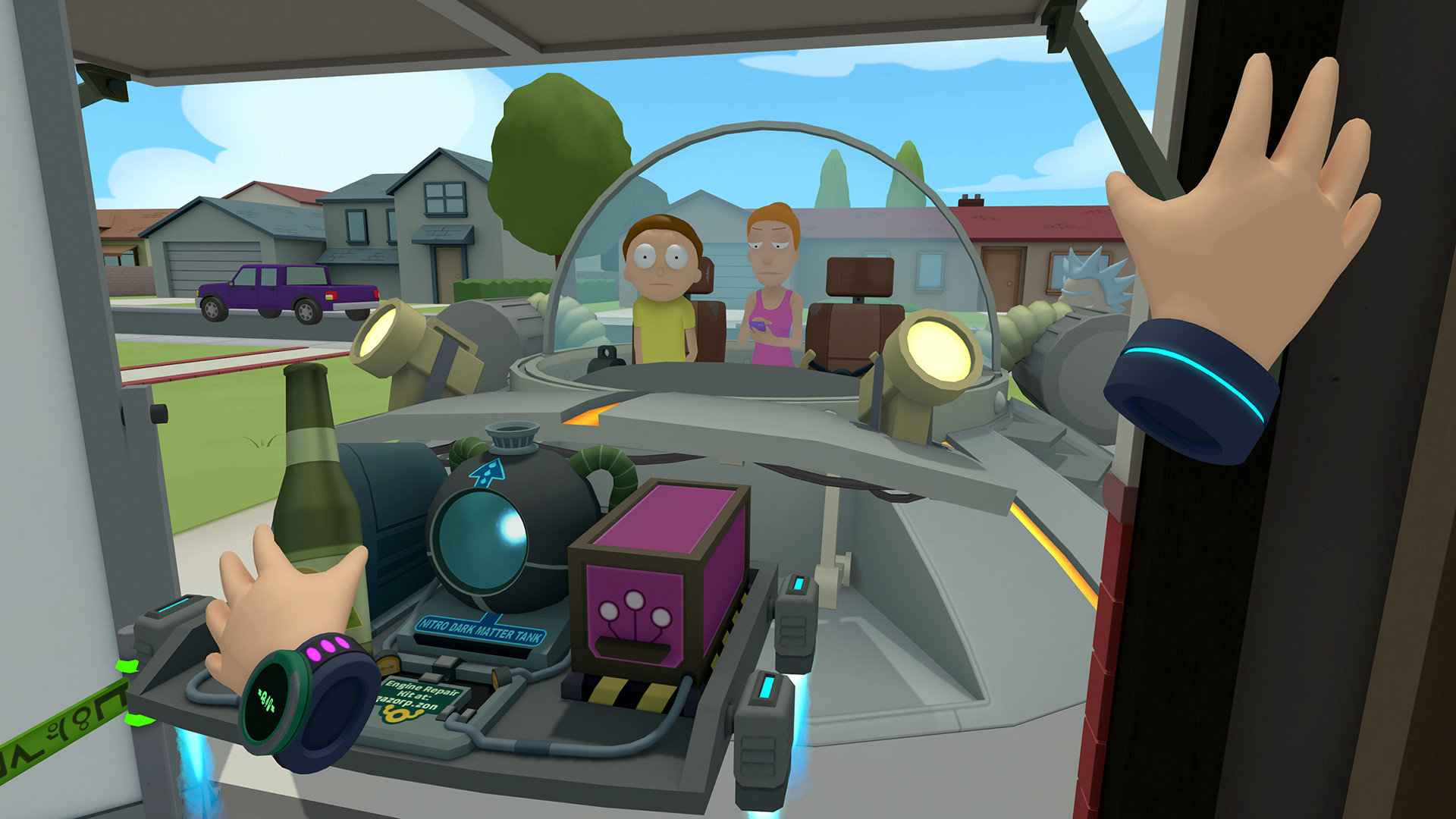 Rick and Morty Virtual Rick-ality has some great puzzles and humor that fans will absolutely love