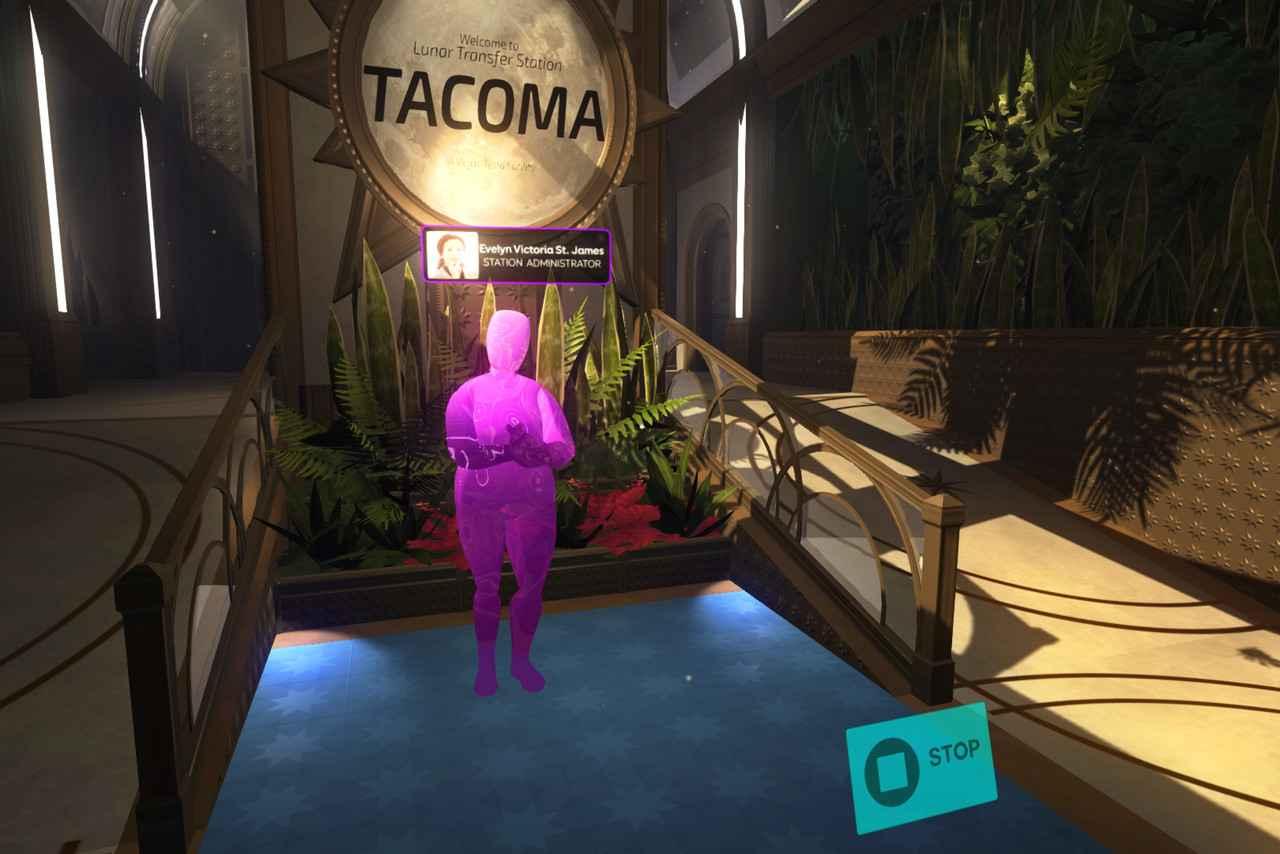 tacoma lunar transfer station