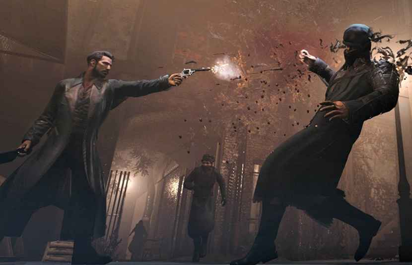 Vampyr combat looks like a mix of Dark Souls and Arkham