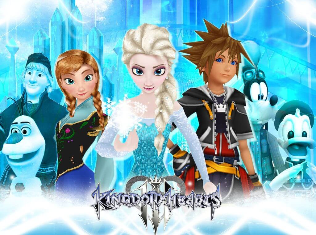 Frozen comes to Kingdom Hearts 3