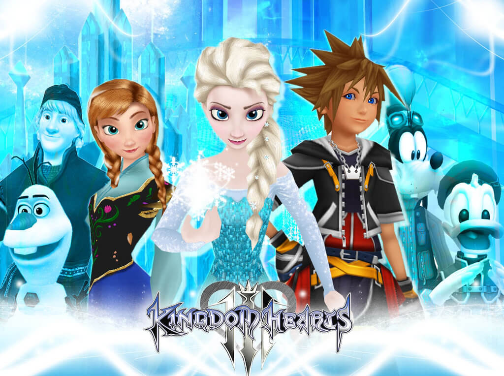 Kingdom Hearts 3 Frozen Revealed As New World