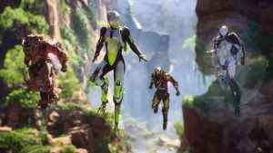 Anthem at E3 2018 - the game's four classes of Javelin