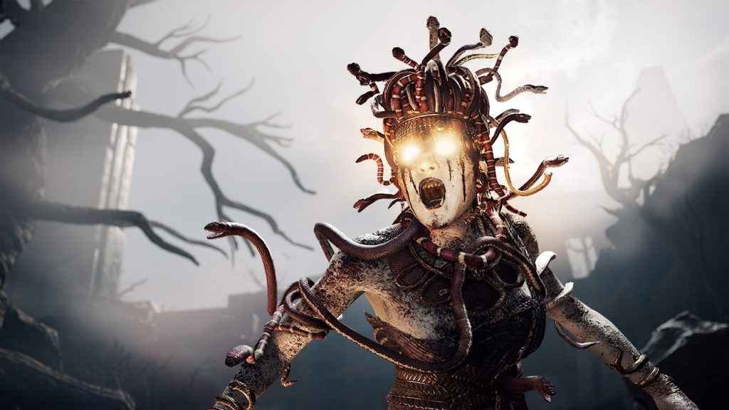 It's unlikely many people would romance Medusa, even if they could - Assassin's Creed Odyssey