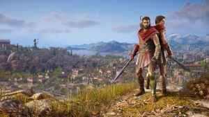 Assassin's Creed Odyssey lets you play as either Kassandra or Alexios