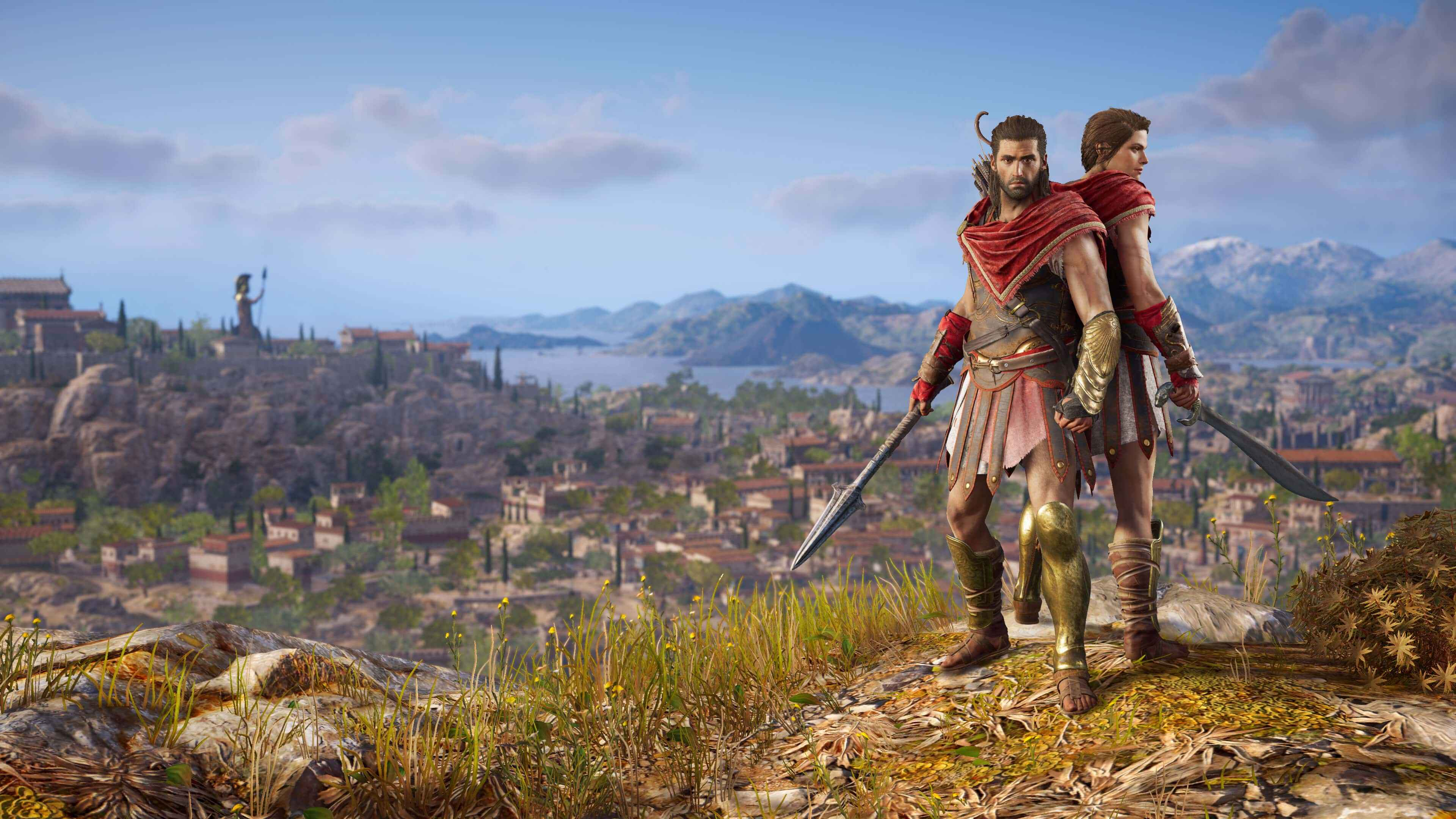 Assassin S Creed Odyssey Is A Proper Rpg In Case You Hadn T Heard