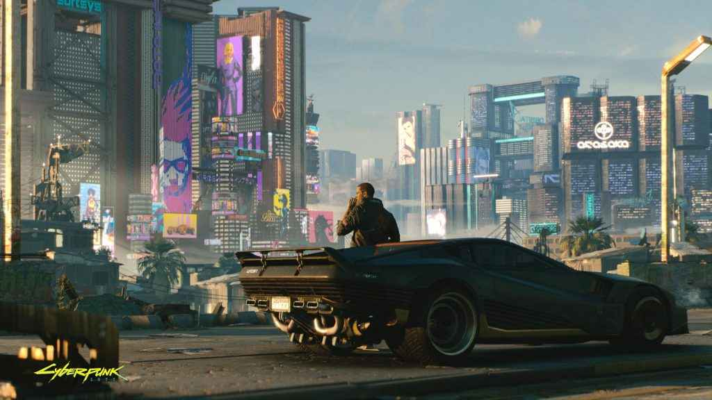 Cyberpunk 2077 looks next-gen, but it's aiming for current