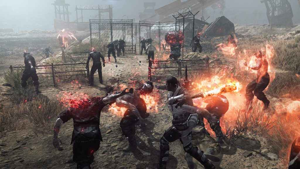 Hold off the denizens of the wasteland in Metal Gear Survive