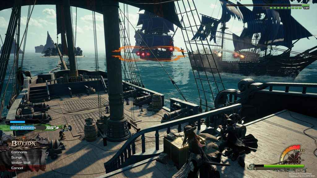 Kingdom Hearts 3 introduces naval combat to the world of Port Royal
