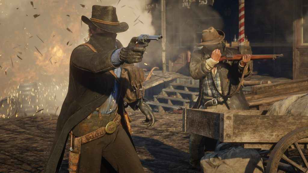 Return to the wild west in Red Dead Redemption 2
