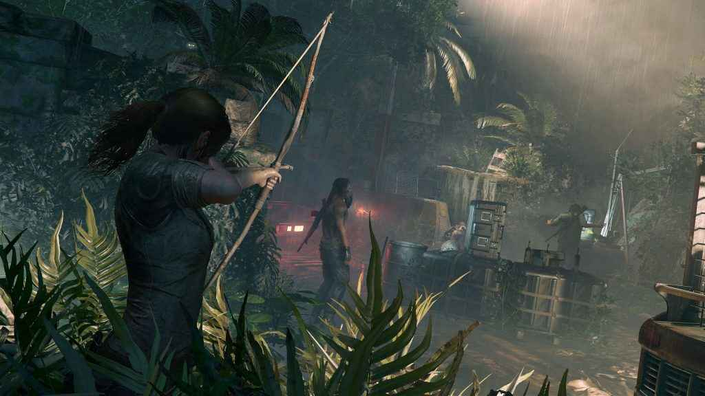 Lara's come on leaps and bounds since the early days of Tomb Raider