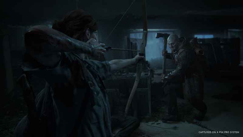 Combat as featured in the latest Last of Us Part 2 trailer