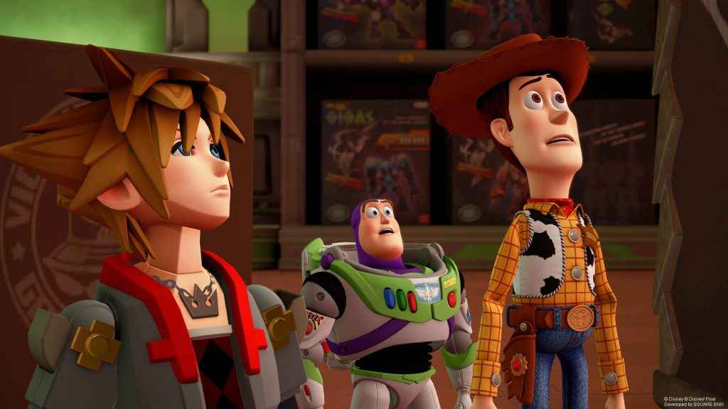 Sora joins Woody, Buzz, and the gang in Kingdom Hearts 3