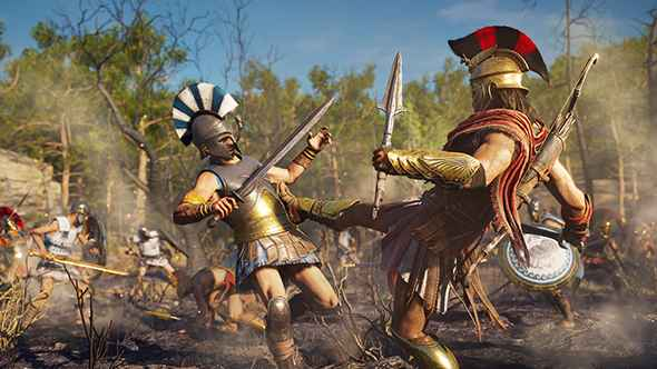 Watch Over 15 Minutes of Assassin's Creed Odyssey Gameplay