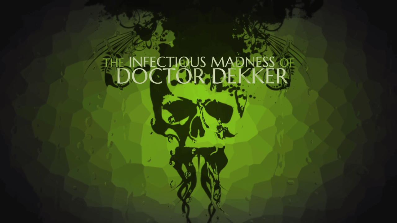 FMV Game The Infectious Madness of Doctor Dekker is Out Today