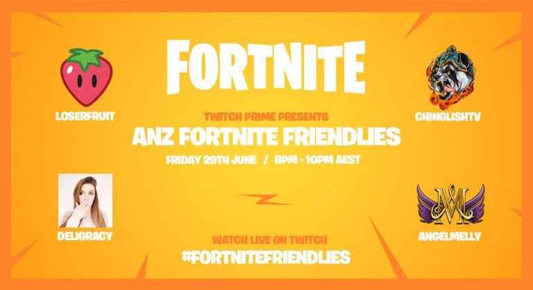Fortnite Friendlies Live Stream Tonight As Double XP Weekend Goes Live