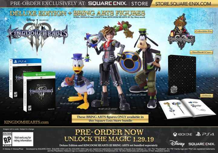 kingdom hearts 3 special edition