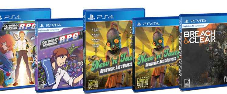 Limited Run Games New PS4, Vita Switch Titles – Physical Release