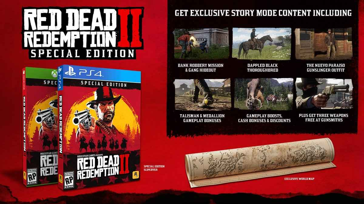 red dead redemption 2 special