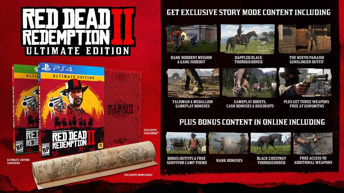 red dead redemption 2 ultimate