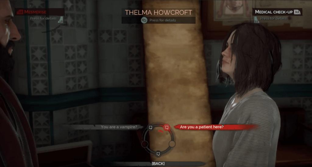 vampyr thelma howcroft