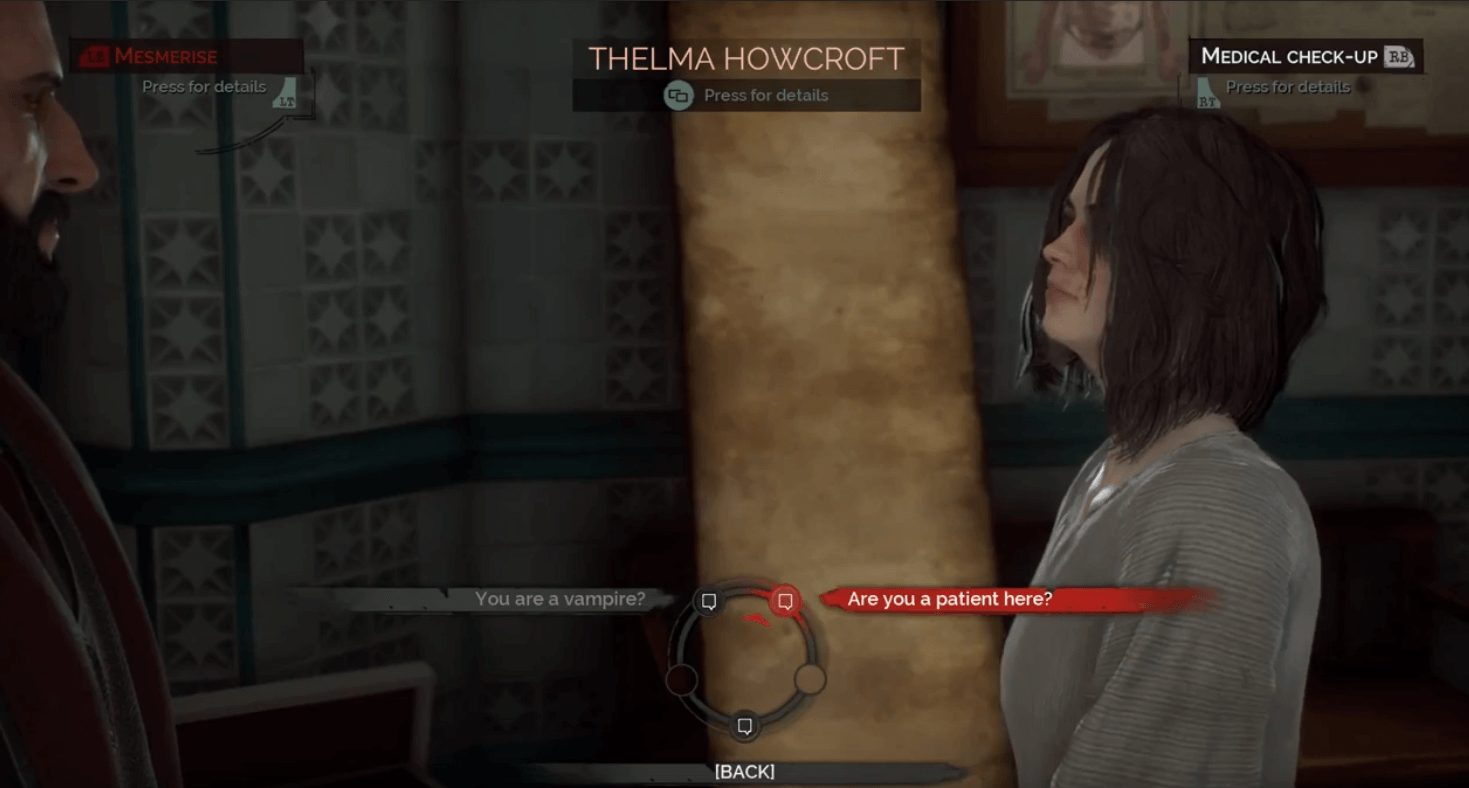 Vampyr Thelma Howcroft – Quest To Unlock All XP