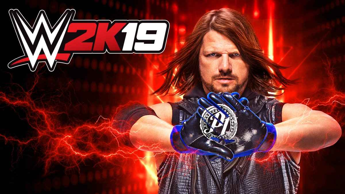 AJ Styles is the Phenomenal Cover Star for WWE 2K19