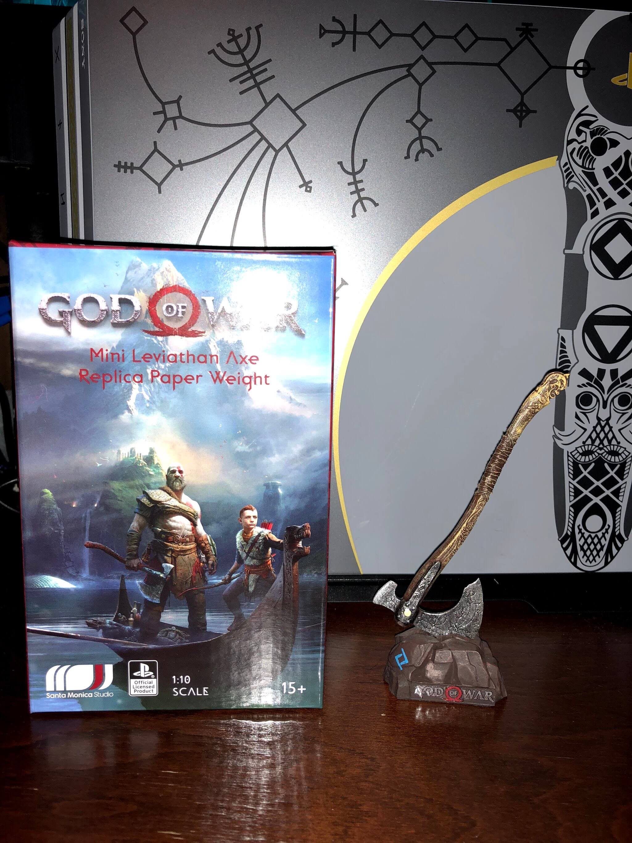 God Of War Loot Crate Unboxed Playstation Universe