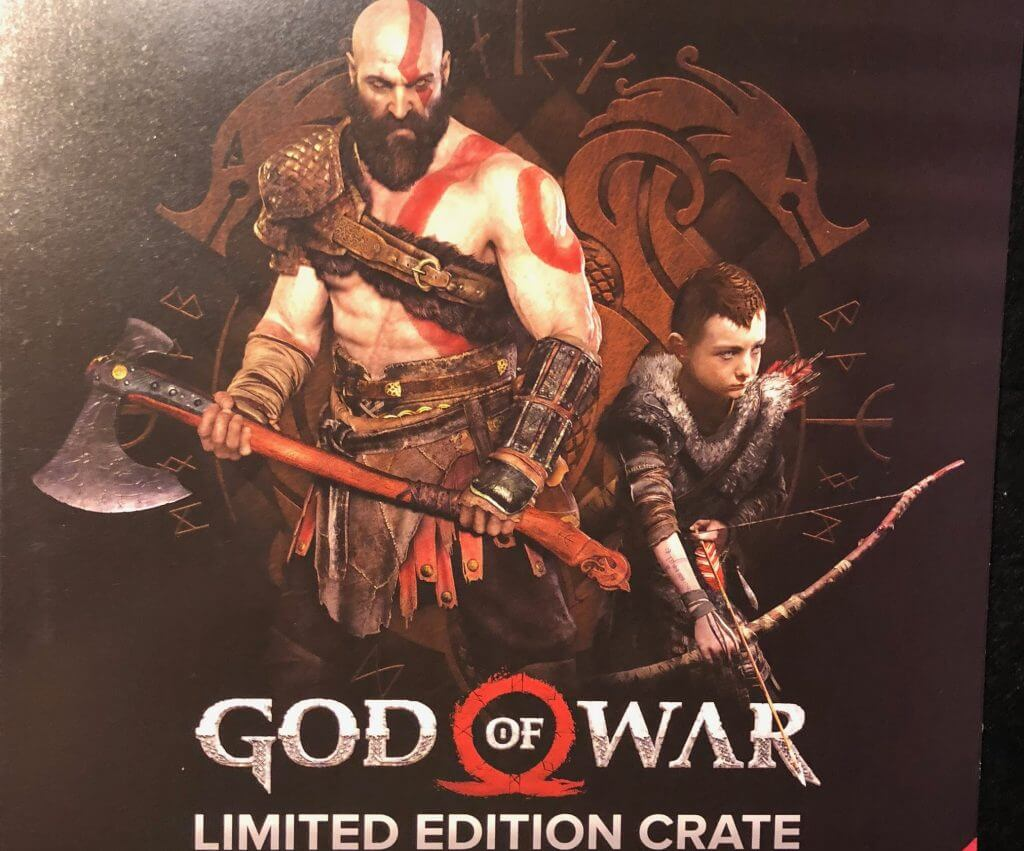 God Of War Loot Crate Unboxed