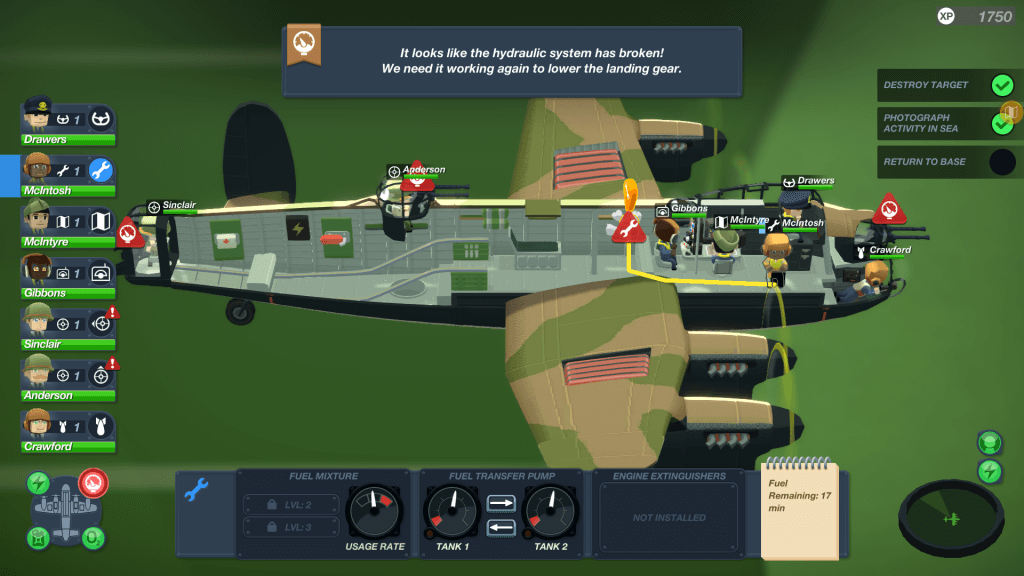 Managing your aircraft in Bomber Crew can feel like spinning thirty plates, doing your taxes, and solving a Rubiks Cube simultaneously