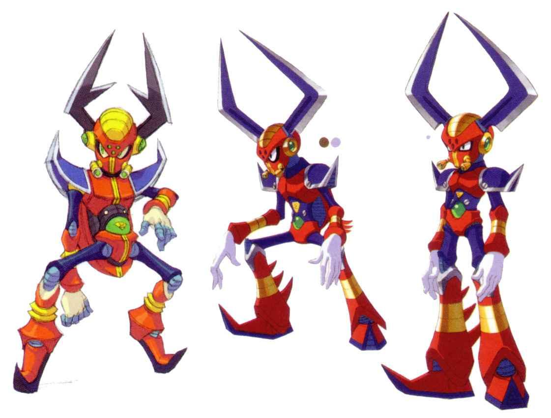 Mega Man X Legacy Collection 1+2: Mega Man X Boss Guide 05