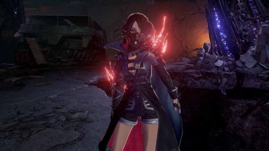 Code Vein is set in a pseudo-vampire infested post-apocalypse