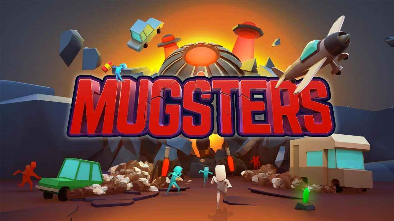 Mugsters – Team17's physics-based action-puzzler – Invades PS4 Today