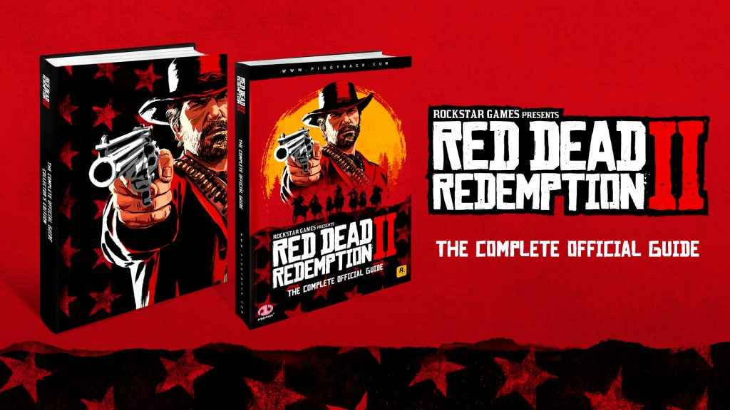 Our first look at the cover of the Red Dead Redemption 2 complete official guide