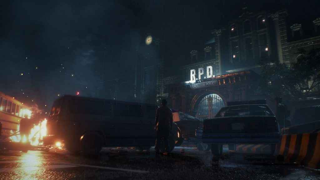 I bet Resident Evil 2's Raccoon City would have looked incredible in PSVR