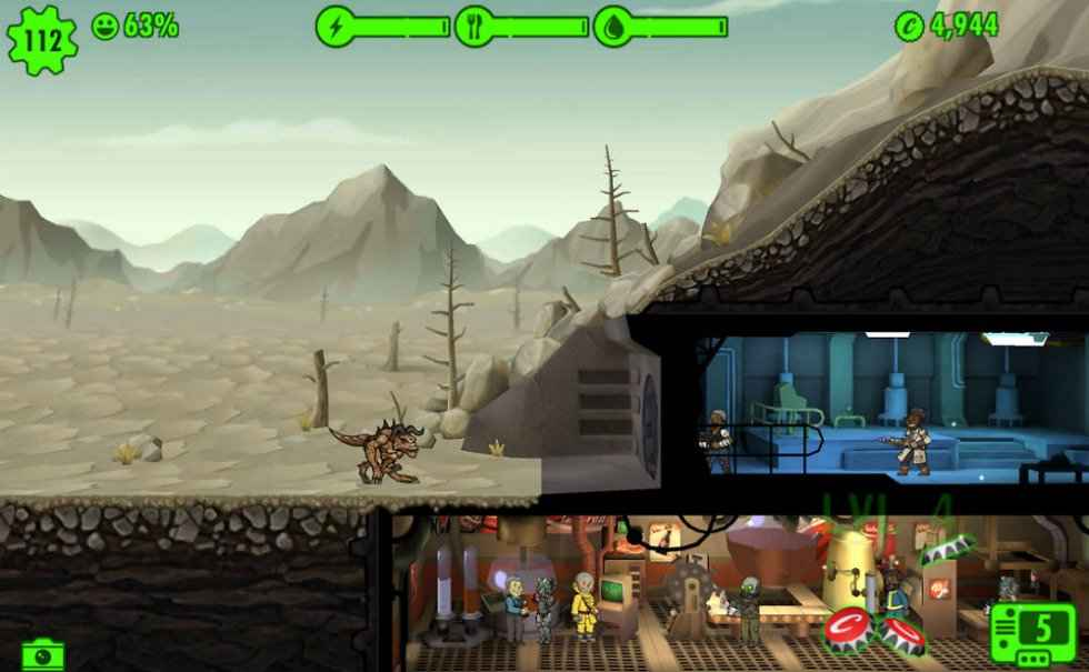 fallout shelter stranger chance