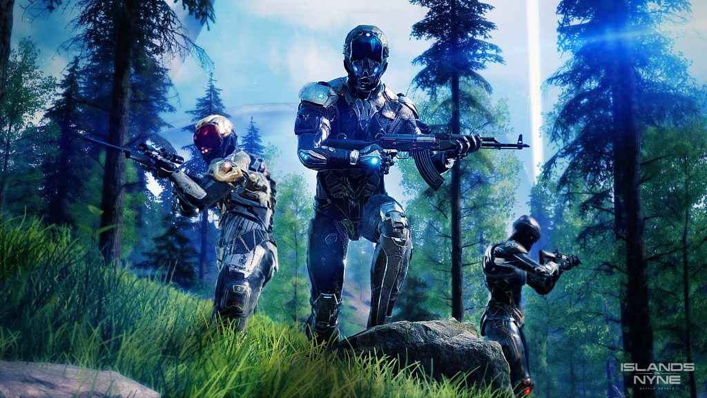Islands of Nyne PS4 Release Coming As Battle Royale Shooter Blasts Off