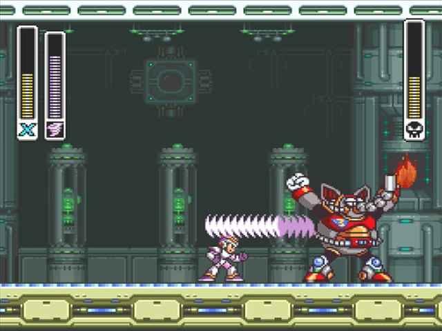 Mega Man X Legacy Collection 1+2: Mega Man X Boss Guide 08