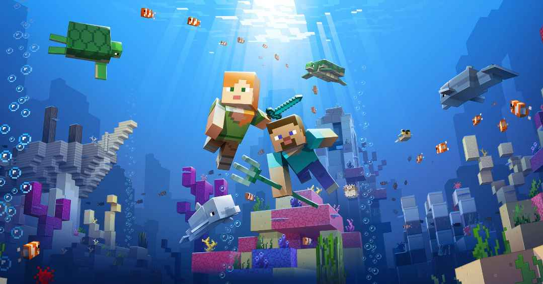 When Is The Minecraft Aquatic Update PS4 Release Date?